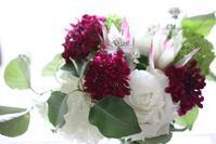 Bouquet est un cadeau de ma fille - Rose ancient 神戸焼き菓子ギャラリー