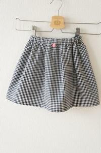 toco.パターンtuckedskirt size100をギンガムチェックで作りました。 - ハンドメイドで親子お揃い服 omusubi-five(オムスビファイブ)