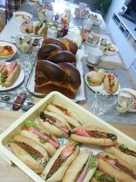 5月19日の教室 - 手作りパン・料理教室(えぷろん・くらぶ)