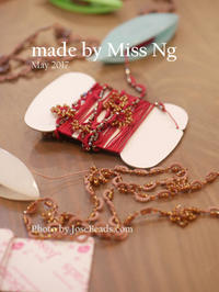 made by Miss Ng (May 2017) - JOSEBEADS jewelry kits