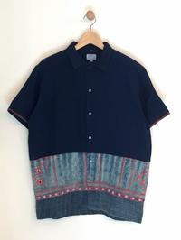 GAIJIN MADE / HILL TRIBE INDIGO PATCH SS SHIRTS - Safari ブログ