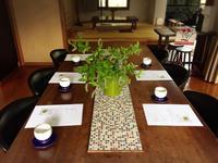 春の料理教室始まりました〜メインはお魚料理 - Coucou a table!      クク アターブル!