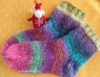 * NOROの毛糸で靴下を編んだ! - フランス Bons vivants idees d'aujourd'hui