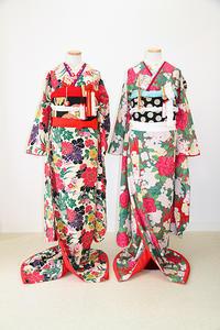 華やぐ婚礼衣装 お花尽くしの2着 - それいゆのおしゃれ着物レンタル