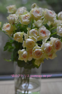 「プレゼント 私から」 - 世田谷区羽根木 東松原の小さなお花の教室   「森のアトリエ  pommes de pin」