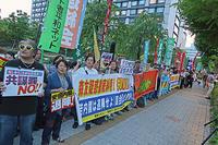 共謀罪廃案!安倍内閣退陣! MX「ニュース女子」抗議行動14 - ムキンポの exblog.jp