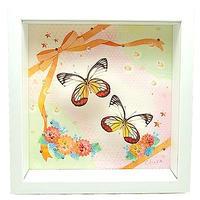 蝶とイラストのコラボ商品【Cute-yellow】 - ** アトリエ Chica **