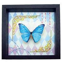 蝶とイラストのコラボ商品【classical-blue】 - ** アトリエ Chica **