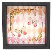 蝶とイラストのコラボ商品【classical-pink】 - ** アトリエ Chica **