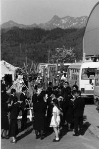 80年代夕張121・南大夕張炭鉱事故の合同葬 - 萩原義弘のすかぶら写真日記