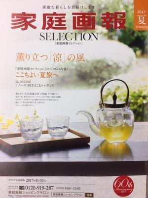 2017夏 家庭画報 SELECTION に D.if story が掲載されました! - D.if story