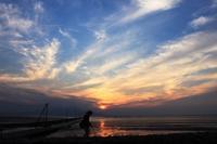 夕焼け2。 - 青い海と空を追いかけて。