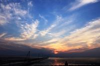 夕焼け。 - 青い海と空を追いかけて。