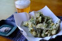 ウドの天ぷら - オムイと森羅万象