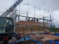 家族の安心・安全を配慮した、制振装置付の家 建て方 - カワケンのほほんブログ