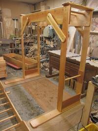 うんていNタイプW1800×H1800×D1140 可動式登り棒2本  - MAGINU STYLE by Art Furniture Gallery