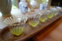 お煎茶をどうぞ - g's style day by day ー京都嵐山から、季節を楽しむ日々をお届けしますー