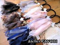 ハンドメイド × ヘアゴム♪♪ - Atelier FAVORI