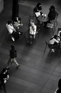 JR大阪駅・時空の広場(その1:夜間撮影) - 写真の散歩道