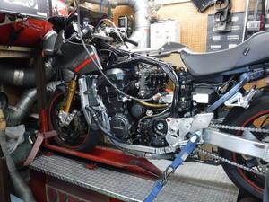 GPZ900Rマーキュリー号の仕様変更・・・その2 - moriyamaengineeringブログ