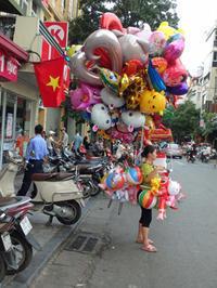 ベトナム紀行(11) ハノイの通りを歩きました。 - ご無沙汰写真館