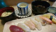清寿司のすしランチ - 工房アンシャンテルール就労継続支援B型事業所(旧いか型たい焼き)セラピア函館代表ブログ