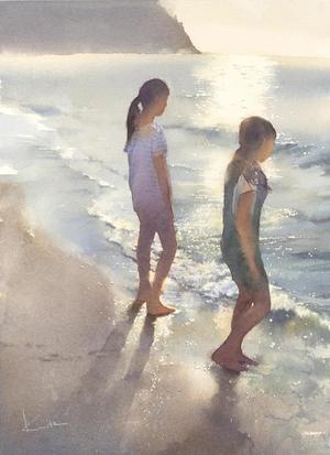 大阪JWSの絵 - はるさき水彩画blog