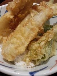 虎ノ門 くつ炉ぎ うま酒 かこいやの穴子天丼とよもぎそば - 東京ライフ