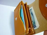 ちょっとそこまで ⇔⇔ カード・お札・小銭 - 手縫い革小物 paddy の作品箱