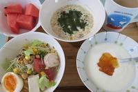 <朝食>フルグラ <お弁当>れんこんとひき肉揚げ <夕食>回鍋肉 - さとごころ