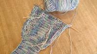 夏糸で棒編み - わたしのたからばこ