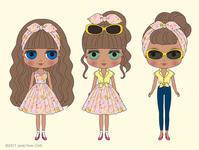 ネオブライス『パイナップル・プリンセス』イラストの発表です☆ - ROSE HOUSEの日常