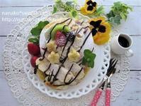 バナナパンケーキ - nanako*sweets-cafe♪