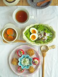 トマトカップのごはん。 - 陶器通販・益子焼 雑貨手作り陶器のサイトショップ 木のねのブログ