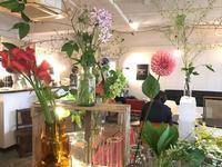 6月の花あるカフェ@SENDAI KOFFEE CO. - la petite couronne de fleur