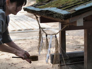 お守り授与式 - 円山ステッチ*佐野明子のブログ