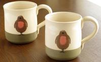 イギリスで愛されるロビンのマグカップ - ブルーベルの森-ブログ-英国カントリーサイドのライフスタイルをつたえる