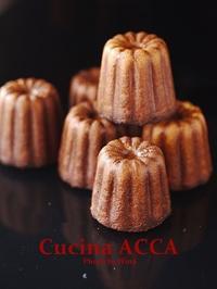 フランス地方菓子、Galette Bretonne & Cannelé de Bordeaux - Cucina ACCA
