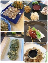 韓国料理教室④ - 研究者との生活