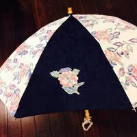 叔母の着物を日傘に - my favorite things