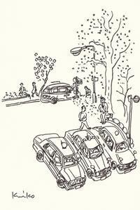 タクシー広場 - あおいとりスケッチ