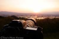 富山散歩~県西部287~散居の夕陽を眺める - Tomの一人旅~気のむくまま、足のむくまま~