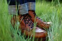久しぶりの草むらセッター。 レッドウィング RW875 オロイジナル - 今日も晴れて幸せ!