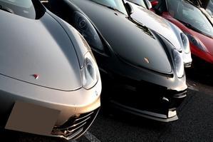 類は友を呼ぶ...... 友を...呼び続ける .... - PORSCHE  Boxster Spyder and Cayman GT4