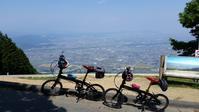 池田山 根性?サイクリング - 近江ポタレレ日記(琵琶湖)自転車二人旅