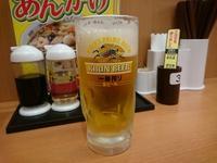 5/22 桜エビ汁なしラーメン餃子セット¥770+生ビール2杯¥620@日高屋 - 無駄遣いな日々