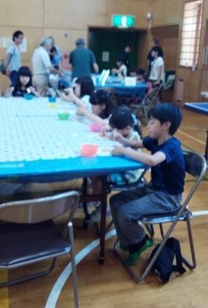 「わくわくワークショップ」中川西地区センター - 小松菜プロジェクト