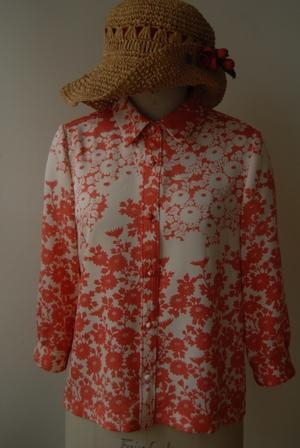着物リメイク・1枚の着物からシャツ&ブラウス - harico couture