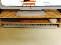 パソコンのキーボードとマウスの収納~簡単DIY~ - 鏑木木材株式会社 ブログ