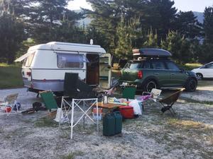 琵琶湖でエリバ - Westy Life